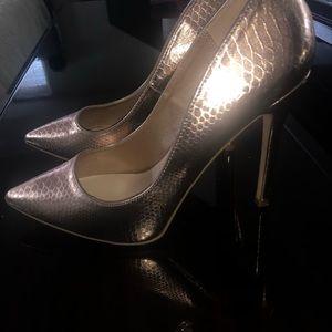 Copper gold heels